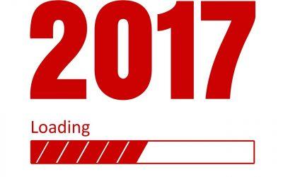 good year, 2017, greetings